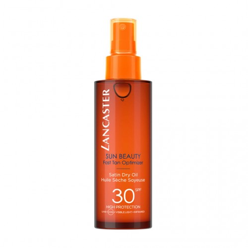 LANCASTER SUN BEAUTY FAST TAN OPTIMIZER DRY OIL SPF30